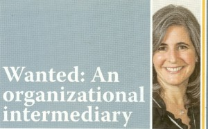 Organizational Intermediary (JPost)